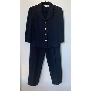 St. John Collection 90s Knit Jacket and Pant Set 8